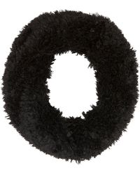 Charlotte Russe - Fuzzy Knit Scarf - Lyst