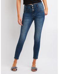Charlotte Russe - Refuge High Waist Skinny Jeans - Lyst
