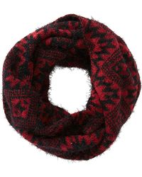 Charlotte Russe - Aztec Print Infinity Scarf - Lyst