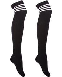 Charlotte Russe - Thigh High Socks - Lyst