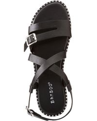 Charlotte Russe - Bamboo Strappy Flat Sandals - Lyst