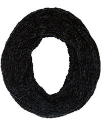 Charlotte Russe - Fuzzy Knit Infinity Scarf - Lyst