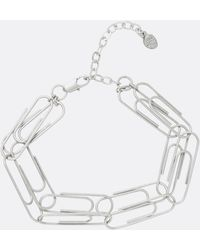 Cheap Monday - Paper Clip Bracelet - Lyst