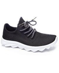 Dirty Laundry Serene Knit Sneaker - Black
