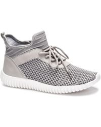 Dirty Laundry Helium Knit Sneaker - Gray