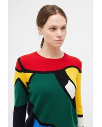 Chinti & Parker - Multi-colour Abstract Majestic Jumper - Lyst