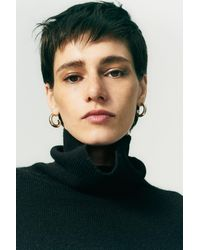 Chinti & Parker - Black Cashmere Rollneck Sweater - Lyst