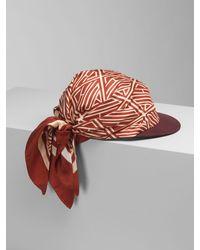 Chloé Scarf Cap - Multicolour