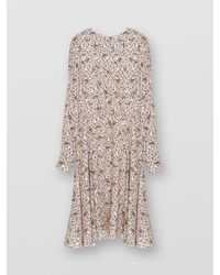 Chloé Day Dress With Print - Pink