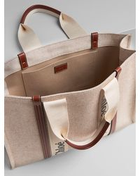 Chloé Large sac cabas Woody - Multicolore