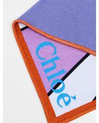 Chloé Serviette de plage Franckie - Multicolore