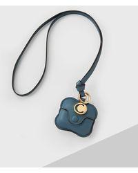 Chloé Alphabet Airpods Case - Blue