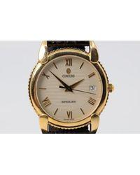 Chorost & Co. Concord Impresario 18k Gold Watch - Metallic