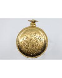 Chorost & Co. Vintage 18k Yellow Gold Charles Taylor & Son Pocket Watch - Metallic