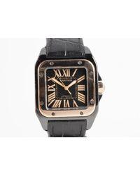 Chorost & Co. Cartier Santos 100 33mm Watch - Multicolor