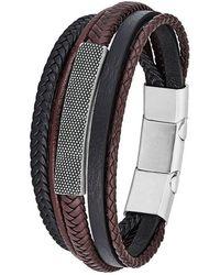 S.oliver Armband - Schwarz