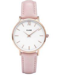 Cluse Damenuhr Minuit - Pink