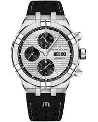 Maurice Lacroix Herrenuhr Aikon Chronograph Day Date - Mettallic