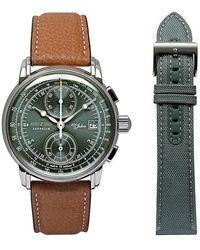 ZEPPELIN Uhren-Set , 100 Jahre - Mettallic