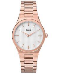Cluse Damenuhr Vigoureux - Pink