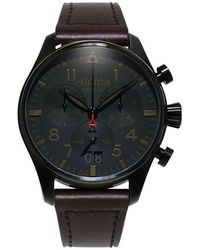 Alpina Chronograph Startimer - Schwarz