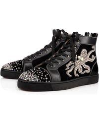 louboutin replica boots - Shop Men\u0026#39;s Christian Louboutin Sneakers | Lyst
