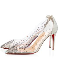 ef553a359b06 Lyst - Christian Louboutin Degrastrass Leather Pumps in Black