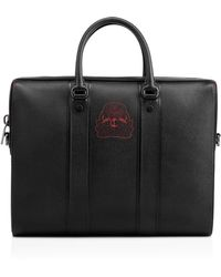 Christian Louboutin - Streetwall Briefcase Black Calfskin - Lyst