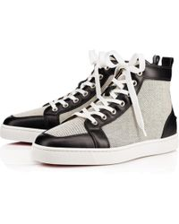 7f962c5ce581 Lyst - Christian Louboutin sporty Dude Flat Sneakers in Black for Men