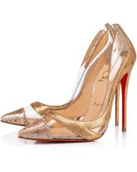 a1e9f1a3d95 Lyst - Christian Louboutin Bianca in Natural
