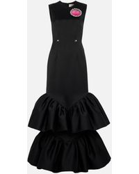 Christopher Kane Cupcake And Gel Gown - Black