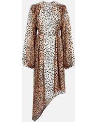 Christopher Kane Cheetah Bow Dress - Multicolor