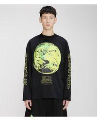 Christopher Kane Ecosexual Long Sleeve T-shirt - Black
