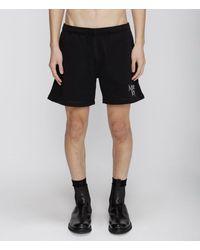Christopher Kane More Joy Embroidered Jersey Shorts - Black