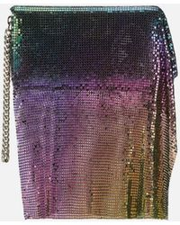 Christopher Kane Chainmail Long Wallet - Purple