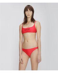 Christopher Kane Special Bikini Top - Red