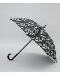 Christopher Kane More Joy Umbrella - Black