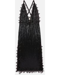 Christopher Kane Chainmail Dress - Black