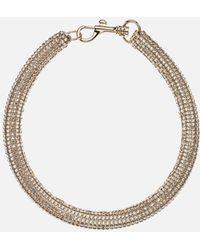Christopher Kane - Slim Bolster Necklace - Lyst