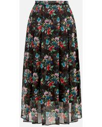 Christopher Kane - Archive Floral Pleated Skirt - Lyst