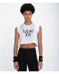 Christopher Kane More Joy Cropped Vest - White