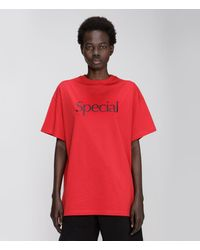 Christopher Kane Special T-shirt - Red