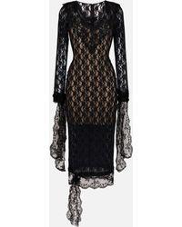 Christopher Kane - Stretch Lace Dress - Lyst