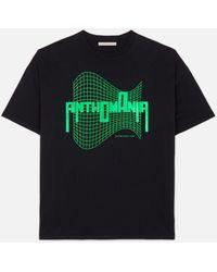 Christopher Kane Anthomania Logo-print Cotton T-shirt - Black