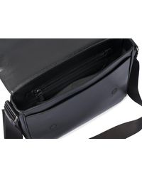 Church's St James Leather Messenger Bag - Black