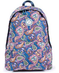 Pretty Green - Nylon Backpack In Vintage - Lyst