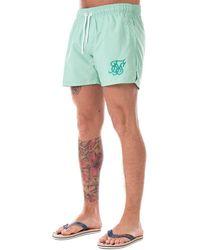 Sik Silk - Swim Shorts In Teal - Lyst
