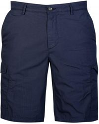BOSS - Hugo Crigan Short Cargo-d Shorts Navy - Lyst
