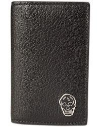 Alexander McQueen - Pocket Organiser Wallet Black - Lyst