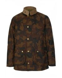 Barbour - International Camo Bedale - Lyst